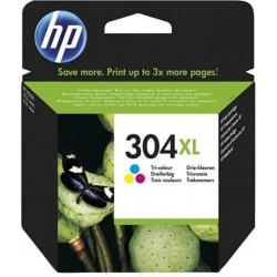 HP Cartouche d'Encre 304 XL Trois Couleurs (lot de 2)