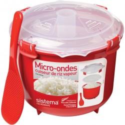 Sistema Cuiseur riz vapeur micro-ondes à clips 2.6 L