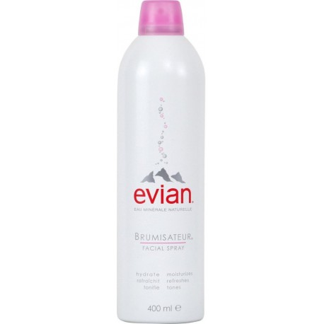 Evian Brumisateur Spray 400ml (lot de 2)