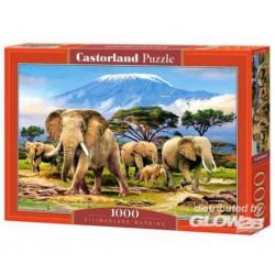 Puzzle Kilimanjaro Morning, puzzle 1000 parties
