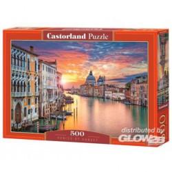 Puzzle Venice at Sunset, puzzle 500 pièces