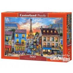 Puzzle Rues de Paris, puzzle 500 pièces