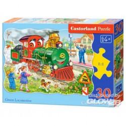 Puzzle Green Locomotive, Puzzle 30 pièces
