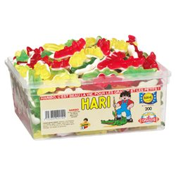 Haribo Hari Crocodiles (lot de 3)