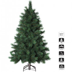 Sapin de Noël artificiel Pin de l'Alaska Vert 180cm