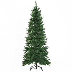 Sapin de Noël artificiel imitation Nordmann grand réalisme Vert 210cm