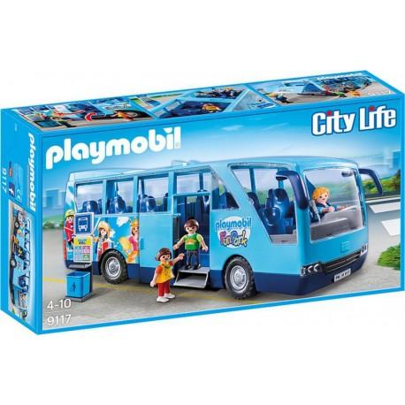 PLAYMOBIL 9117 City Life - Bus Funpark