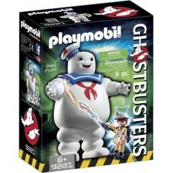 PLAYMOBIL 9221 Ghostbusters - Fantôme Stay Puft Et Stantz