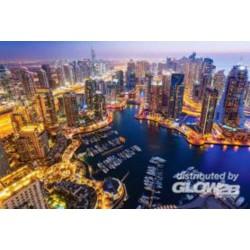 Puzzle Dubaï à la nuit, puzzle 1000 parties