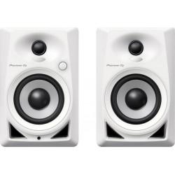 Pioneer DJ Haut-Parleurs Blanc DM-40-W