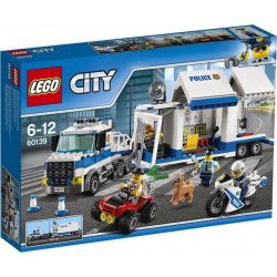LEGO 60139 City - Le poste de commandement mobile