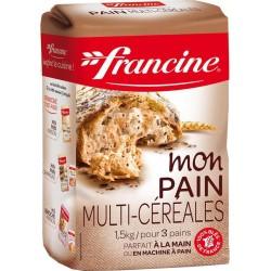 Francine Mon Pain Multi-Céréales 1,5Kg (lot de 6)