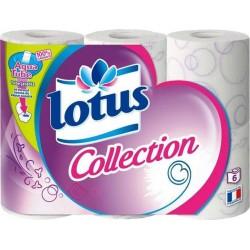 Lotus Collection 6 Rouleaux (lot de 3)