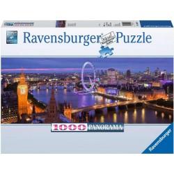 Ravensburger Puzzle 1000 pièces - Londres de nuit (Panorama)
