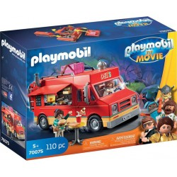 PLAYMOBIL 70075 The Movie - Food Truck de Del