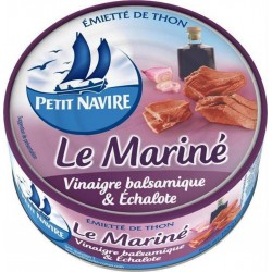 Petit Navire Thon Le Mariné Vinaigre Balsamique & Echalote 110g (lot de 5)