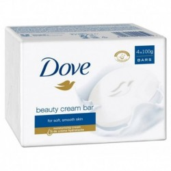 Dove Beauty Cream Bar 4 Pains De Toilette de 100g (lot de 12 pains)