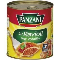 Panzani Le Ravioli Pur Volaille 800g (lot de 8)