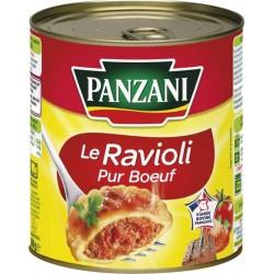 Panzani Le Ravioli Pur Boeuf 800g (lot de 8)