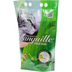 Tranquille Litière Végétale Biodégradable Pour Chat 4L (lot de 2)
