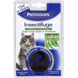 Phytosoin Collier 35cm Réfléchissant Insectifuge Action Préventive pour Chat et Chaton (lot de 2)