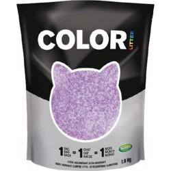 Nullodor Litière Agglomérante Ultra Absorbante Color Violette 1,8Kg (lot de 3)