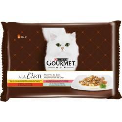 GOURMET CARTE POULET 4X85GR