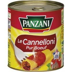 Panzani Le Cannelloni Pur Boeuf 800g (lot de 6)