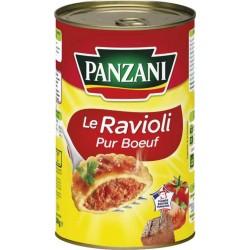 Panzani Le Ravioli Pur Boeuf Maxi Format 1,2Kg (lot de 6)