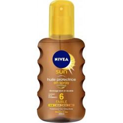 Nivea Sun Spray Huile Protectrice SPF6 200ml (lot de 2)