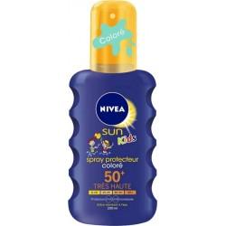 Nivea Sun Kids Spray Protecteur Coloré FPS50 200ml (lot de 2)