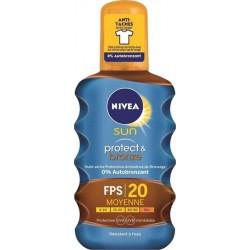 Nivea Sun Spray Protect Et Bronze FPS20 200ML (lot de 2)