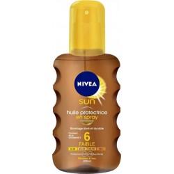 Nivea Sun Spray Huile Protectrice SPF6 200 ML (lot de 2)
