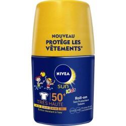 Nivea Sun Kids Roll-On Soin Protecteur SPF20 50ml (lot de 2)