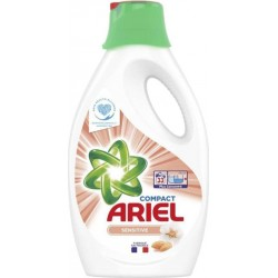 Ariel Liquide Sensitive 1,815L (lot de 2)