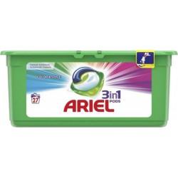 """Ariel Pods """"3 en 1"""" Color 27 Capsules (lot de 2)"""