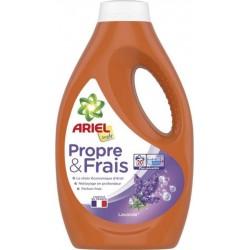 Ariel Liquide Simply Lavande 1,100L (lot de 2)