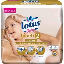 "Lotus Couches Baby ""Touch 2"" (3-6Kg) X29 (lot de 2)"