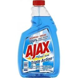 Ajax Vitre Triple Action 750ml (lot de 6)