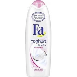 """Fa Gel Douche Yoghurt & Care """"Coconut"""" 250ml (lot de 4)"""