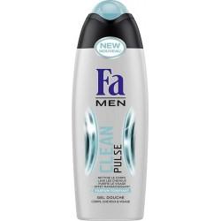 """Fa Men Gel Douche """"Clean Pulse"""" Corps Cheveux Visage 250ml (lot de 4)"""