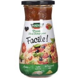 Panzani Sauce Pizza Olives Champignons (lot de 6)