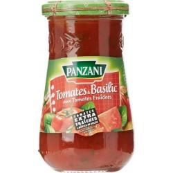 Panzani Sauce Tomates et Basilic (lot de 6)
