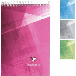 Clairefontaine Bloc Notes 160 Pages Petits Carreaux Format 14,8x21 cm (lot de 4)