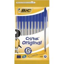 Bic Cristal Original Stylo Bleu (lot de 40 stylos)