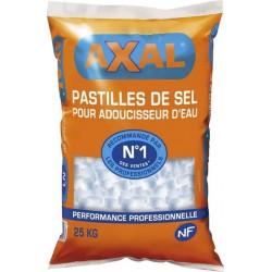 Axal Pastilles De Sel Pour Adoucisseur d'Eau N°1 Des Ventes 25Kg (lot de 4)