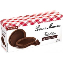 Bonne Maman Tartelettes Chocolat Intense (lot de 3)