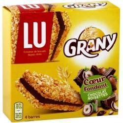 Lu Grany Coeur Fondant Chocolat Noisettes (lot de 3)