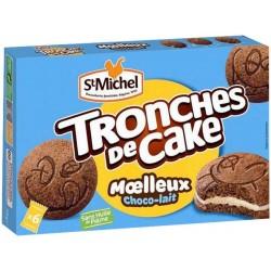 St Michel Tronches de Cake Moelleux Choco-lait 175g (lot de 3)
