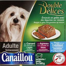 CANAILLOU DOUBLE DELICE 3X300G
